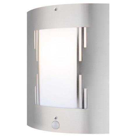 GLOBO 3156-3S - Venkovní nástěnné svítidlo s čidlem ORLANDO 1xE27/60W/230V