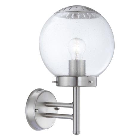 Globo 3180 - Venkovní nástěnné svítidlo BOWLE II 1xE27/60W/230V
