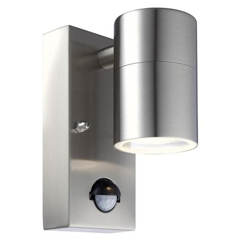 Globo 3201S - Venkovní nástěnné svítidlo s čidlem STYLE 1xGU10/35W/230V