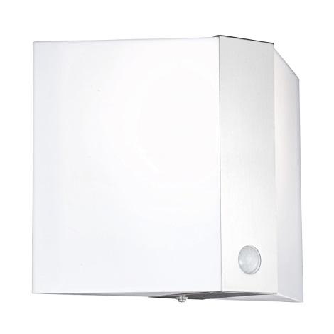 GLOBO 32096S - Venkovní nástěnné svítidlo se senzorem PAULIN 1xE27/60W/230V