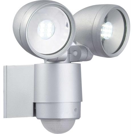 Globo 34105-2S - LED venkovní svítidlo s čidlem RADIATOR II 2xLED/3W/230V