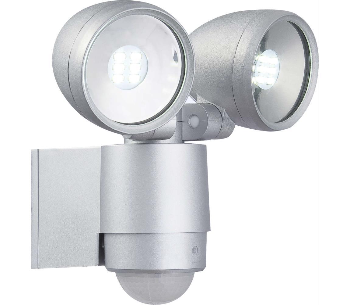 Globo Globo 34105-2S - LED venkovní svítidlo s čidlem RADIATOR II 2xLED/3W/230V GL0796