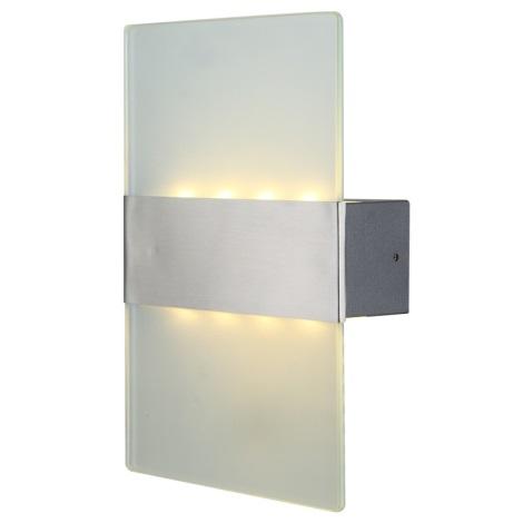 Globo 34165 - Venkovní nástěnné LED svítidlo NEEA 8xLED/0,5W/230V