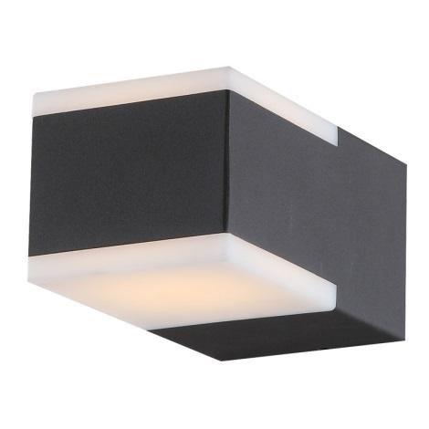 Globo 34282 - Venkovní nástěnné LED svítidlo NESO 2xLED/4,5W/230V