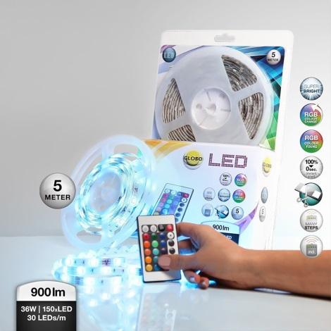 Globo 38990 - RGB LED pásek LED BAND 150xLED/0,16W