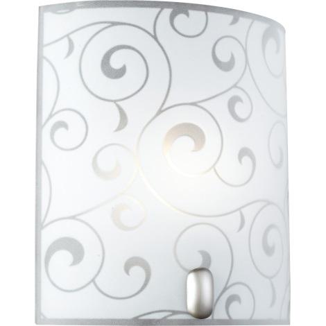 GLOBO 40401-1 - Nástěnné svítidlo BIKE 1xE27/60W