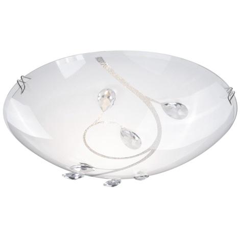 GLOBO 40404-1 - Stropní svítidlo BURGUNDY 1xE27/60W/230V