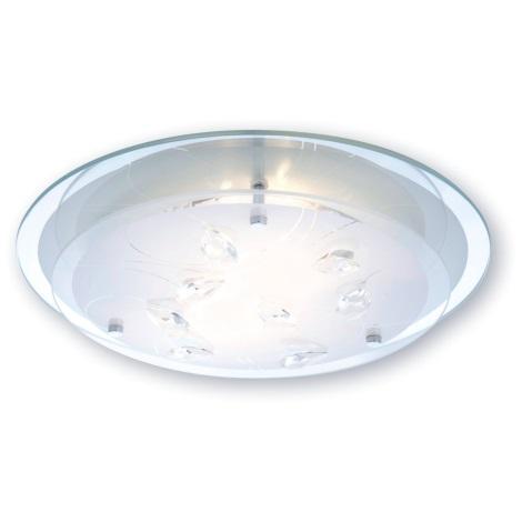 Globo 40409-2 - Stropní svítidlo BRENDA 2XE27ILLU/60W/230V