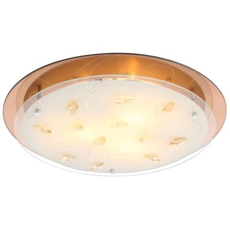 Globo 40413-3 - Stropní svítidlo AYANA 3xE27/40W/230V