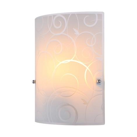 Globo 40491-1W - Nástěnné svítidlo MAVERICK 1xE27/60W/230V