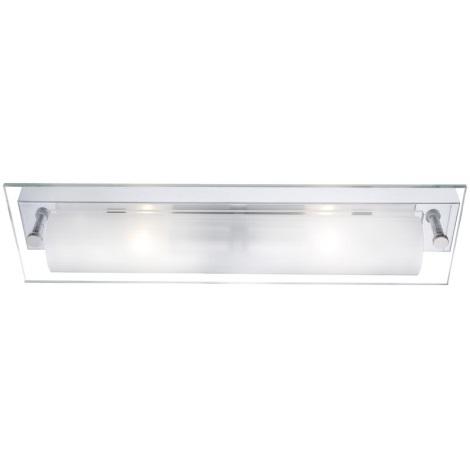 GLOBO 4111 - Nástěnné svítidlo LINE II 2xE14/40W