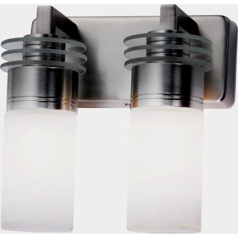 Globo 41520-2 - Koupelnové nástěnné svítidlo PEGASUS 2xG9/33W/230V