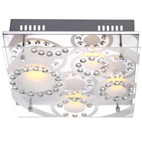 Globo 41690-4 - LED stropní svítidlo TISOY 4xLED/4W/230V