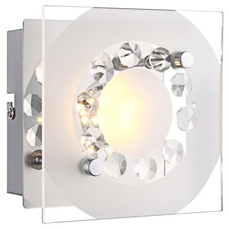 Globo 41690 - LED nástěnné svítidlo TISOY 1xLED/4W/230V
