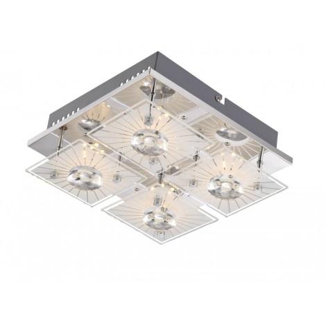 GLOBO 41691-4 - LED stropní svítidlo SANTI  4xLED/4W/9V