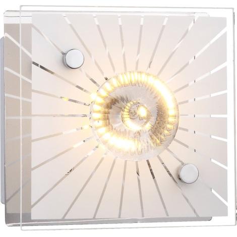 GLOBO 41691 - Nástěnné LED svítidlo SANTI 1xLED/4W/230V