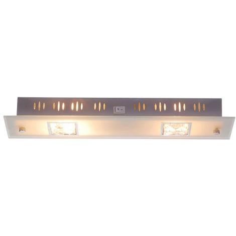 GLOBO 41700-2 - Nástěnné svítidlo GRANADA 2xE14/60W