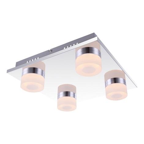 Globo 42504-4 - LED stropní svítidlo PANAMERA 4xLED/4W/230V