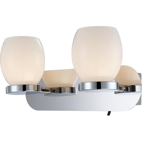 GLOBO 44200-2 - Koupelnové nástěnné LED svítidlo DANO 2xLED/3W/230V