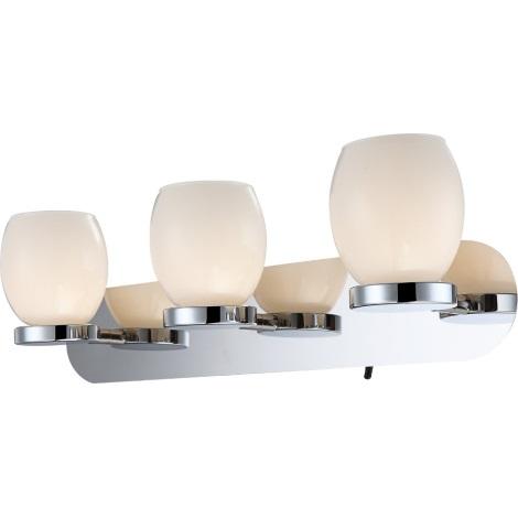 GLOBO 44200-3 - Koupelnové nástěnné LED svítidlo DANO 3xLED/3W/230V