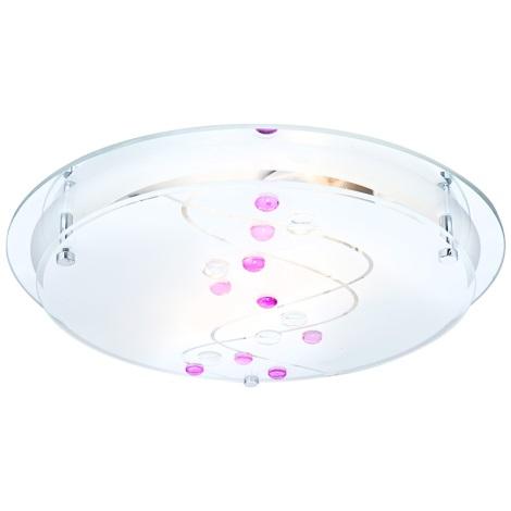 GLOBO 48070-2 - Stropní svítidlo BALLERINA 2xE27/60W/230V
