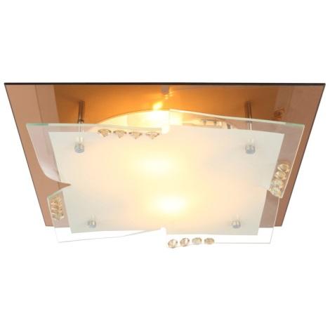 Globo 48084-2 - Stropní svítidlo DUBIA I 2xE27/60W/230V