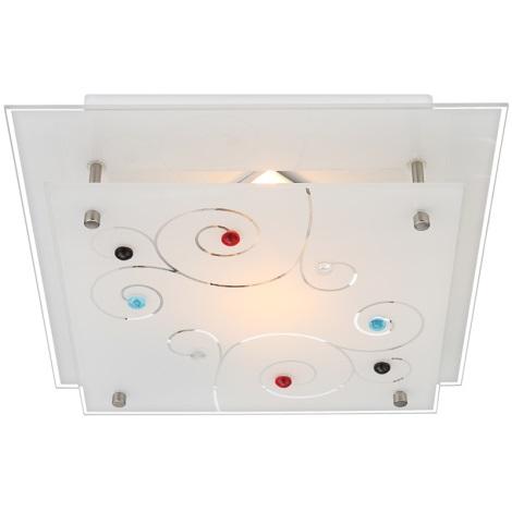 GLOBO 48140-1 - Stropní svítidlo DL CHROM 1xE27/40W/230V