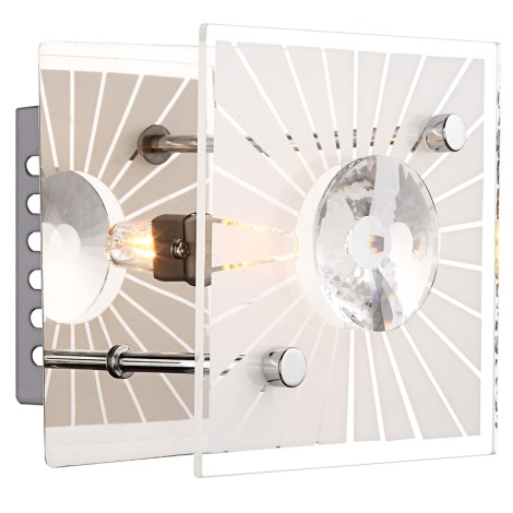 GLOBO 48691 - Nástěnné svítidlo IOLANA 1xG9/33W/230V
