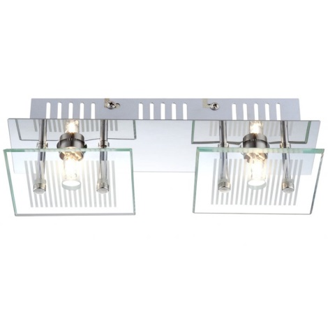 GLOBO 49201-2 - Stropní svítidlo GILMA 2xG9/33W/230V