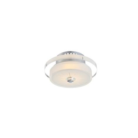 GLOBO 49305-9 - Stropní LED svítidlo DL CHROME 1xLED/9W/230V