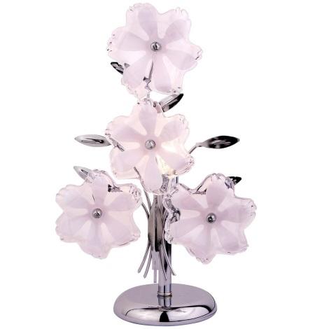 GLOBO 5106C - Stolní lampa FLOWER 1xE14/40W