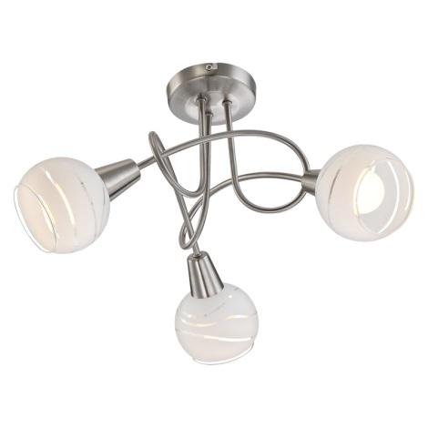Globo 54341-3 - LED stropní svítidlo ELLIOTT 3xE14/4W/230V