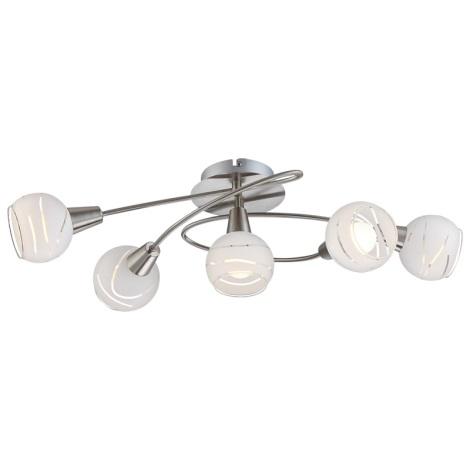 Globo 54341-5 - LED stropní svítidlo ELLIOTT 5xE14/4W/230V