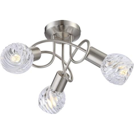 GLOBO 54344-3D - Přisazené LED svítidlo BORONIA 4xE14/4W/230V