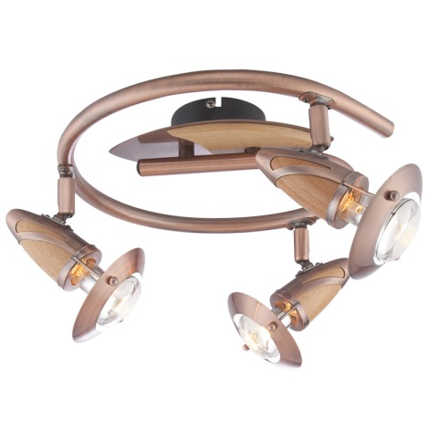 GLOBO 5436-3 - Bodové svítidlo LORD 3xE14/40W/230V