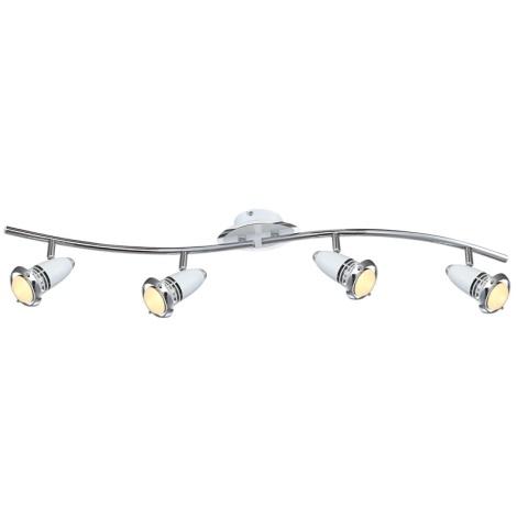 Globo 54381-4 - LED bodové svítidlo BIANKA 4xE14/4W/230V