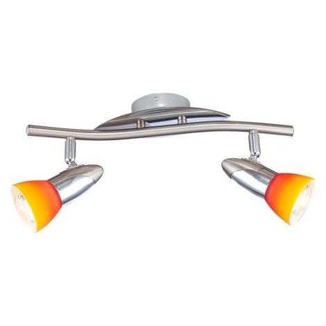 GLOBO 5442-2 - Nástěnné stropní svítidlo LORD IV 2xE14/40W/230V