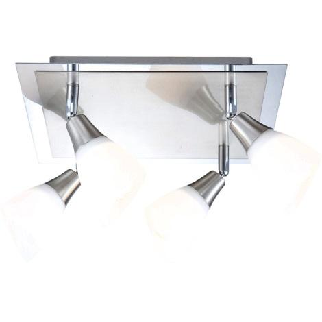 GLOBO 5450-4 - Bodové svítidlo FRANK 4xE14/40W