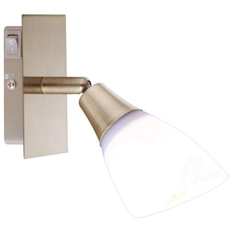 GLOBO 5451-1 - Bodové svítidlo FRANK 1xE14/40W/230V