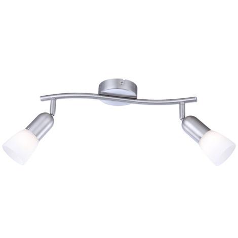 GLOBO 5453-2 - Bodové svítidlo CATHY 2xE14/40W/230V