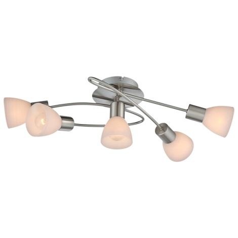 Globo 54533-5D - Stropní svítidlo PANNA 5xE14/40W/230V