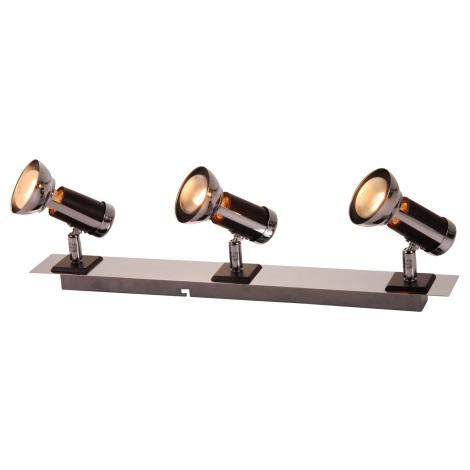 GLOBO 54601-3 - Bodové svítidlo MAGNUM 3xE14/40W
