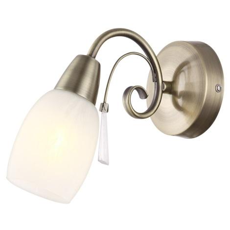 Globo 54645-1W - Nástěnné svítidlo FORREST 1xE14/40W/230V