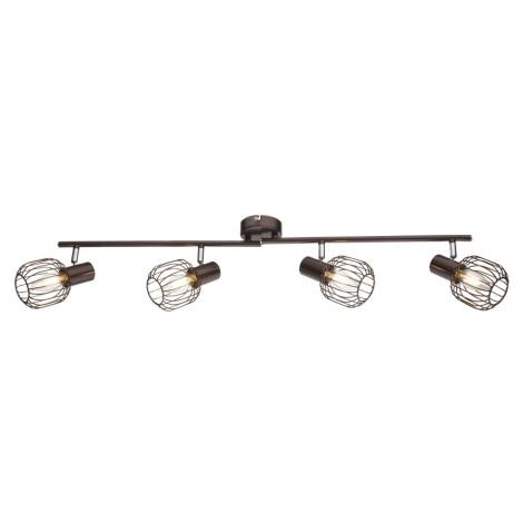 Globo 54801-4 - Bodové svítidlo AKIN 4xE14/40W/230V