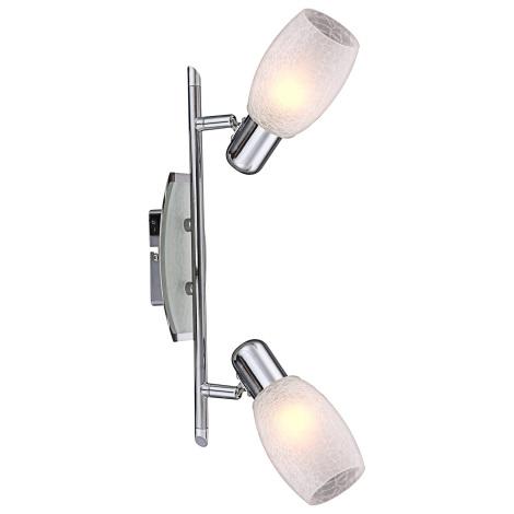 GLOBO 54917-2 - Bodové svítidlo CYCLONE 2xE14/40W