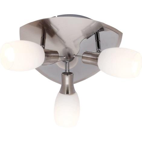 GLOBO 54980-3 - Bodové svítidlo BELUA 3xE14/13W