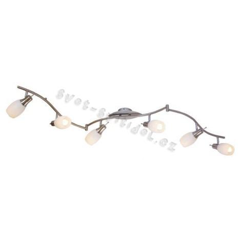 GLOBO 54980-6 - Bodové svítidlo BELUA 6xE14/13W