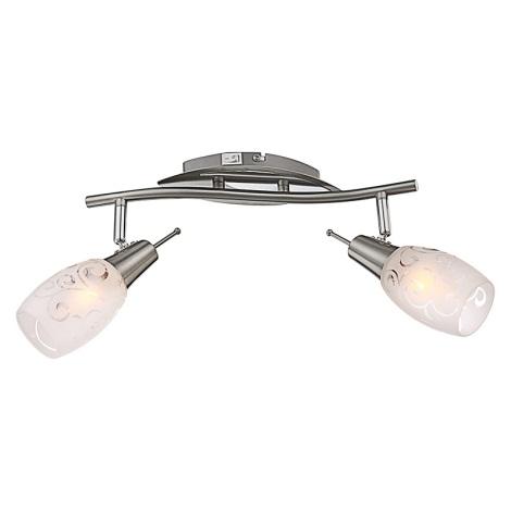 Globo 54984-2 - Bodové svítidlo FLORITA 2xE14/40W/230V