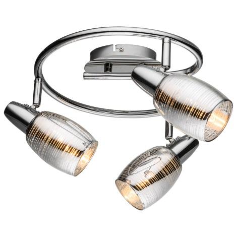 Globo 54986-3 - Bodové svítidlo CARSON 3xE14/40W/230V