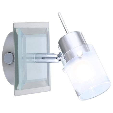 GLOBO 5602-1 - Bodové svítidlo CARRARA 1xG9/33W/230V